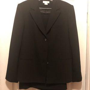 Elegant black suit